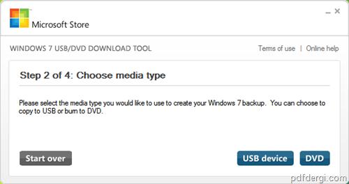 Windows 7 ISO 2 - Windows 7 iso dosyas�n� USB yada DVD ye yazmak