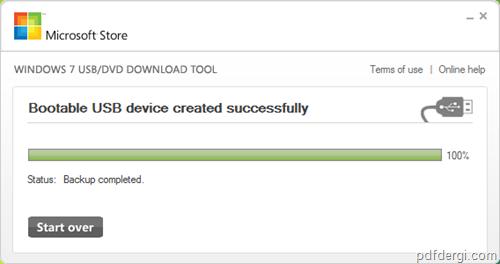 Windows 7 ISO 3 - Windows 7 iso dosyas�n� USB yada DVD ye yazmak
